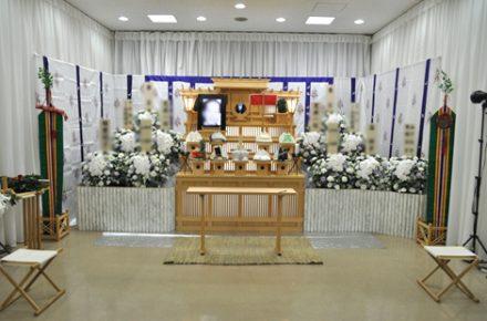 神道祭壇と代々幡斎場にこだわったお葬式