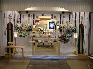 しっかりとした神道祭壇